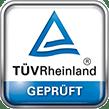Ausgezeichnete Kundenzufriedenheit, TÜV Rheinland