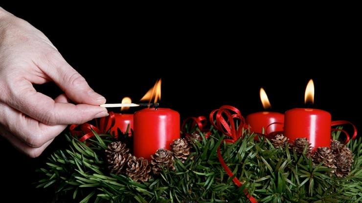 Erhöhte Brandgefahr zur Adventszeit!