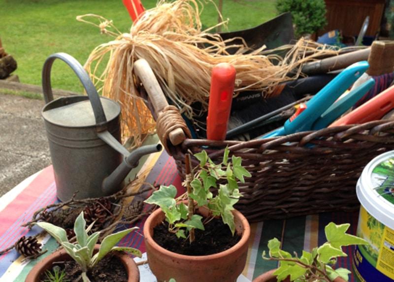 Gartenarbeit-Tetanus-Impfschutz-FSME-Totholz-Werkzeuge-Chemikalien-Pflanzenschutz-Duengemittel-Unkrautvernichter