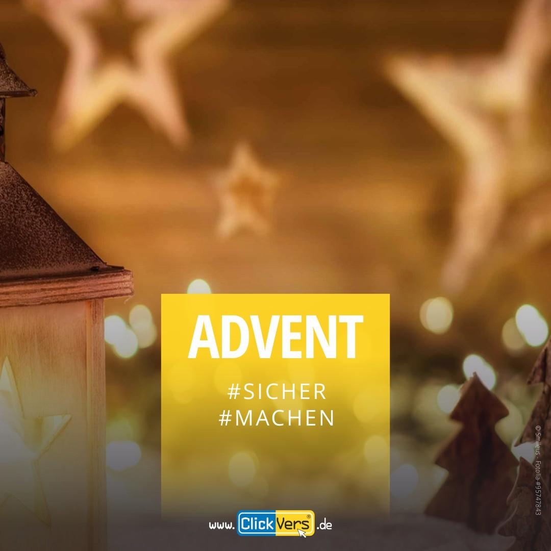 ClickVers - Erhöhte Brandgefahr zur Advents- & Weihnachtszeit!