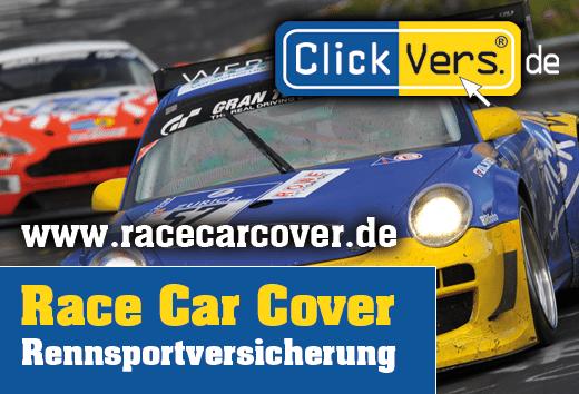 ClickVers RaceCarCover Rennsaison 2016 - Sicherheit ist planbar!