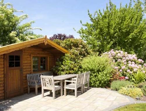 Ist Ihr Gartenhäuschen richtig abgesichert?