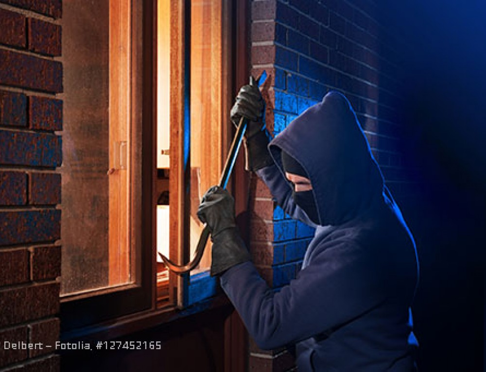 Einbrecher lieben die Dunkelheit!