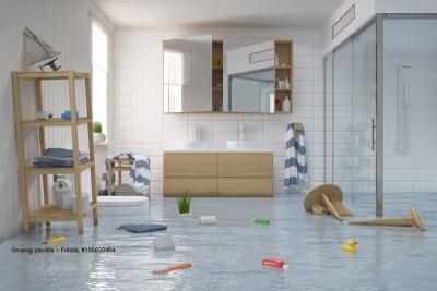 Dusche-Wasserschaden-Hausratversicherung