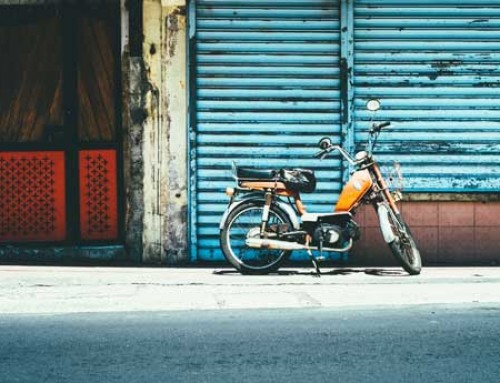 Die Mopedsaison beginnt