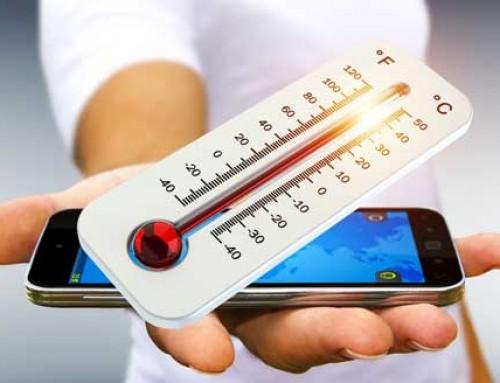 Wie schütze ich mein Mobiltelefon vor zu viel Hitze?
