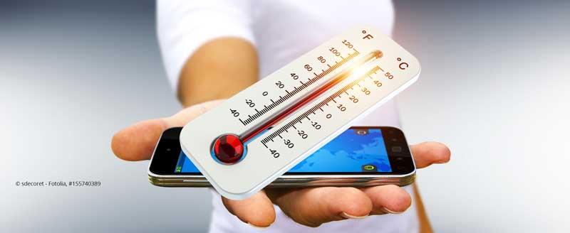 ClickVers-Mobiltelefon-ueberhitzt