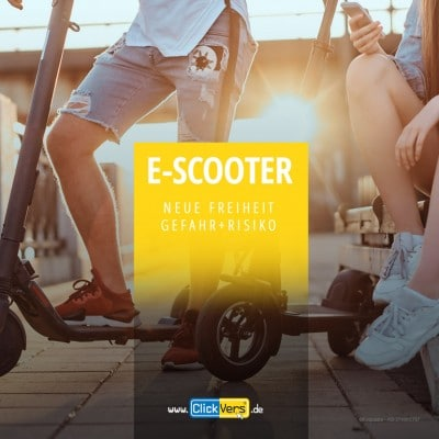 Gefahr und Risiken von Electro-Scooter (E-Rollern)