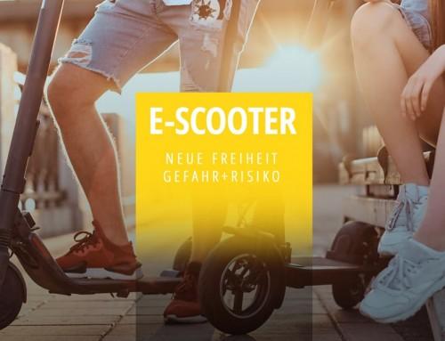 Electro-Scooter – Gefahr und Risiken?!