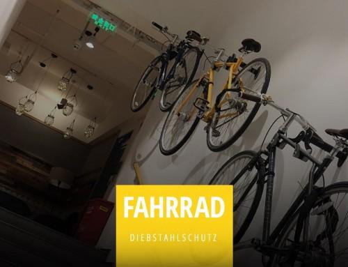 Fahrradversicherung gegen Diebstahl
