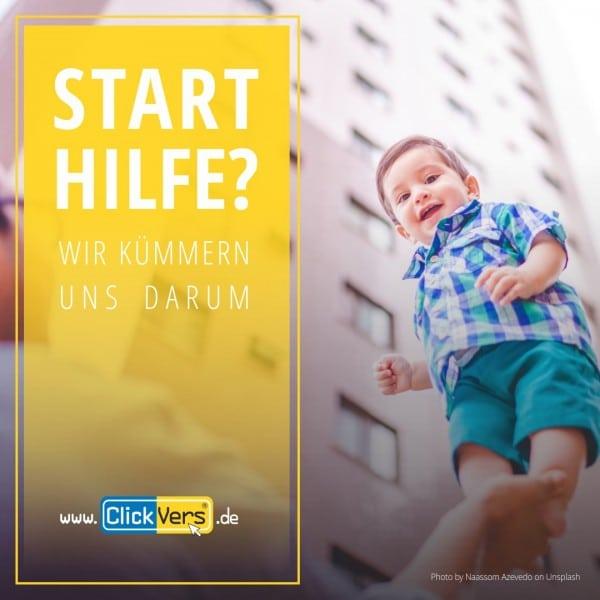 Starthilfe - Ausbildungsversicherung - ClickVers.de