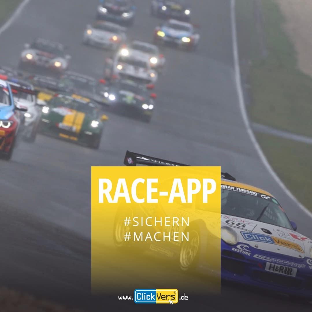 ClickVers-Rennfahrer-TagesUnfallversicherung-App