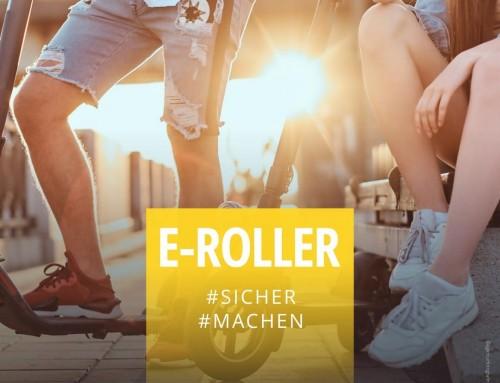 E-Roller / E-Scooter – Gefahr und Risiken?!