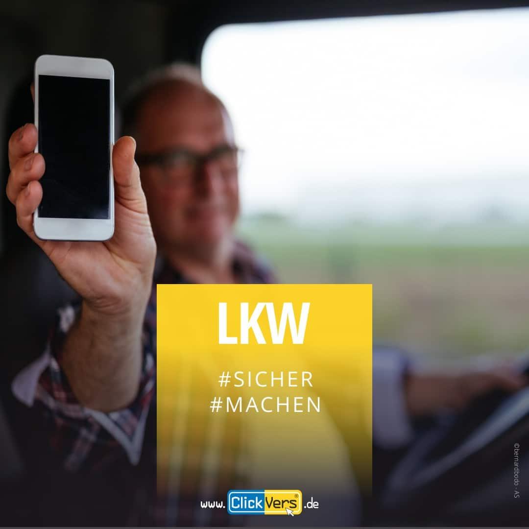 ClickVers-LKW-Fahrer-Handyversicherung